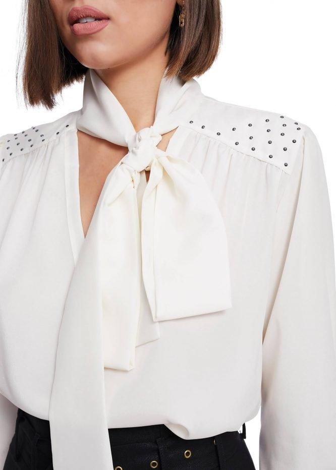 Bluza cu Perle Swarovski
