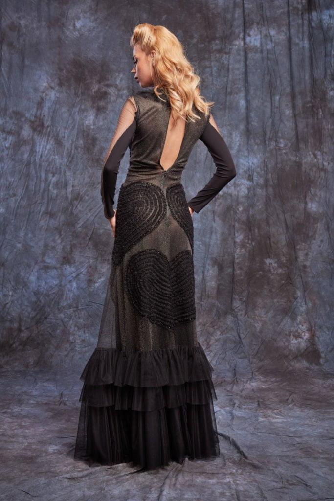 Rochie de seara neagra lunga