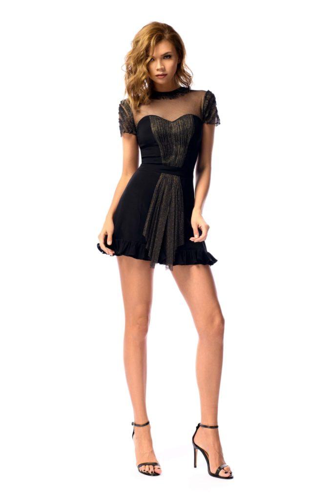 Rochie de cocktail neagra