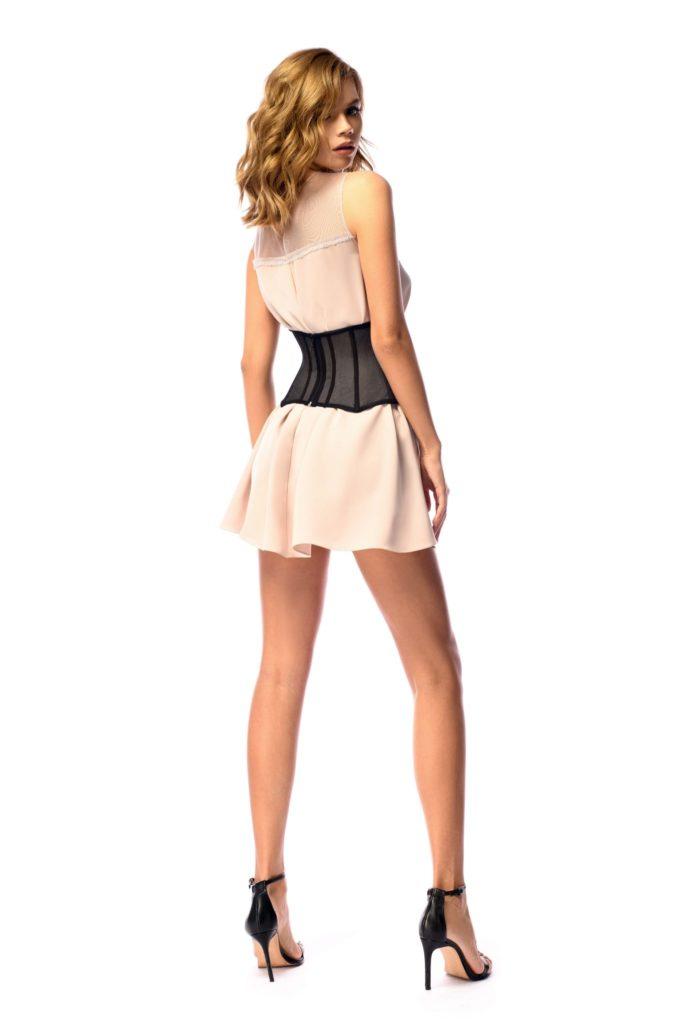 rochie cu corset de talie