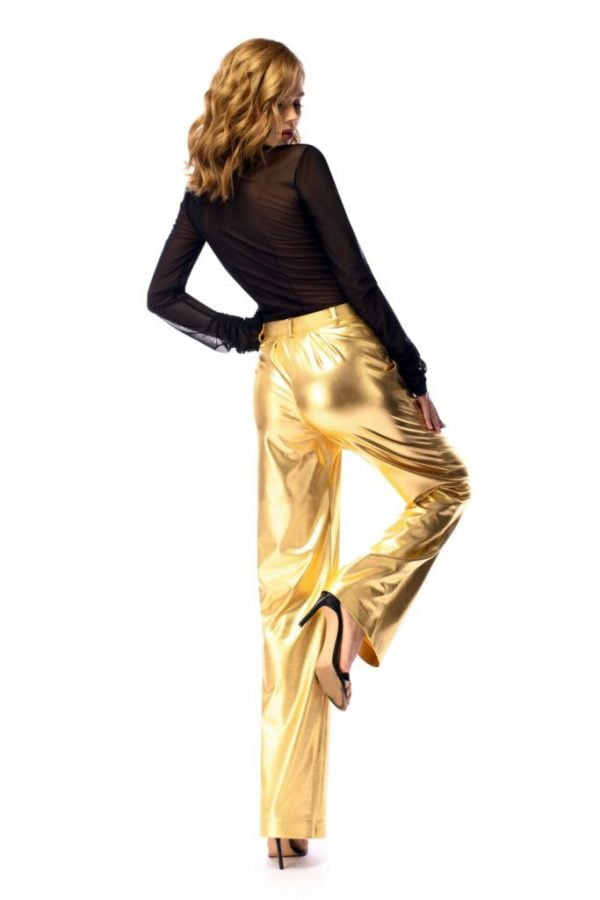 pantaloni aurii