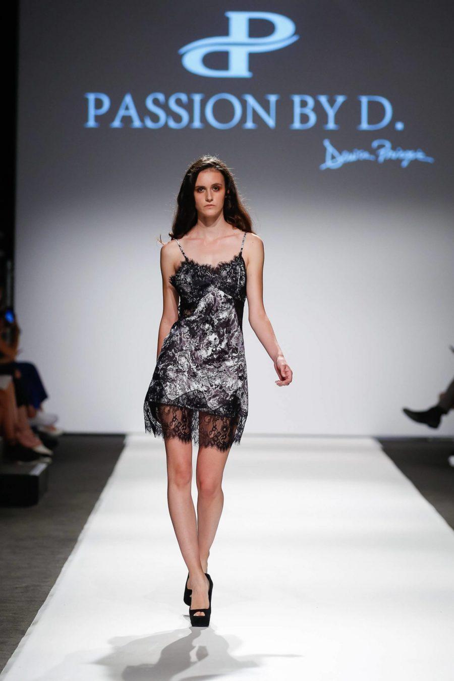Rochie tip furou cu dantela Vienna Fashion week 2019 - Passion by D