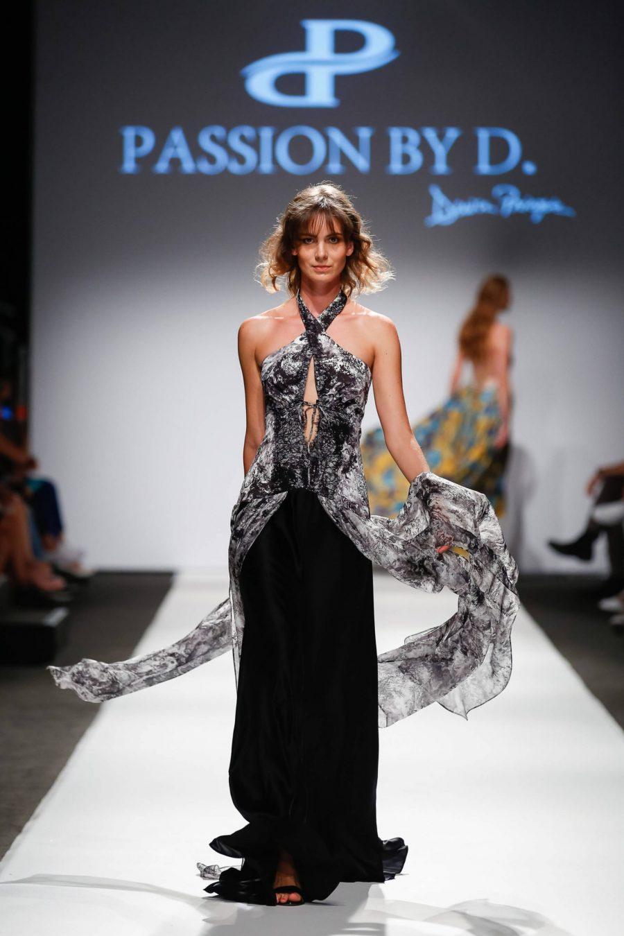Rochie de seara eleganta Vienna Fashion week 2019