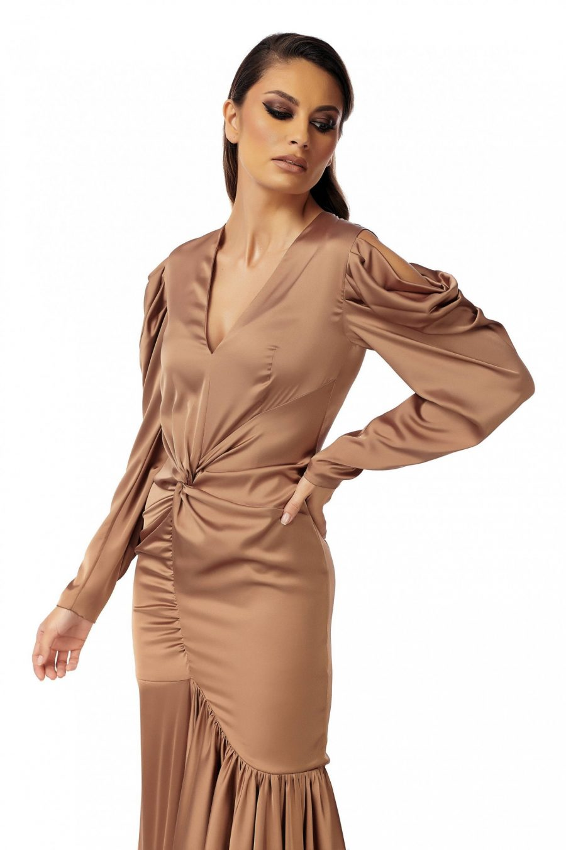 Rochie eleganta cu maneci