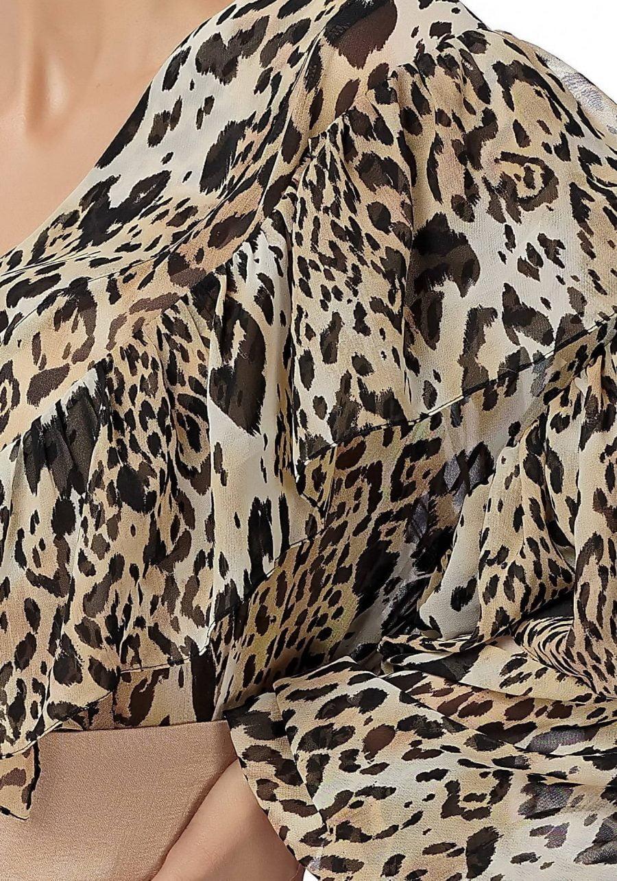 Bluza print animal