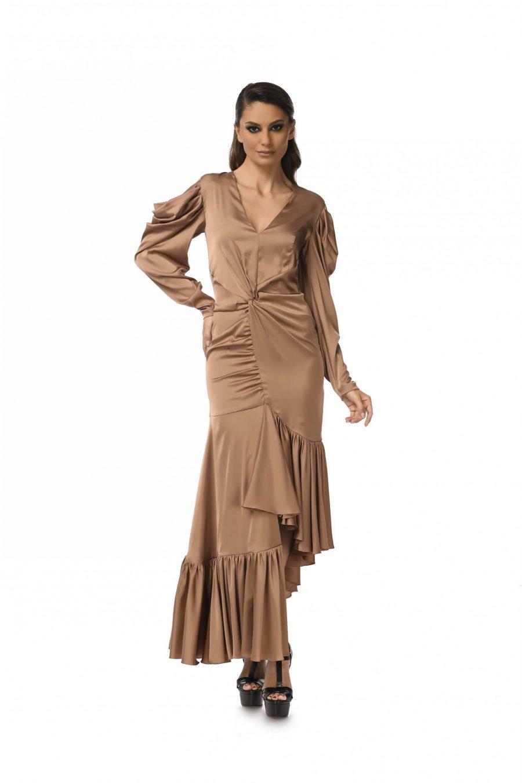 Rochie cu maneci lungi